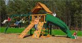 Mountaineer Wooden Swing Set