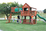 Woodridge Wooden Swing Set...