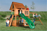 Alleghany Wooden Swing Set...