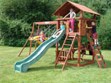 Star Cedar Wooden Swing Set...