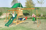 Cedar Ridge Wooden Swing Set...